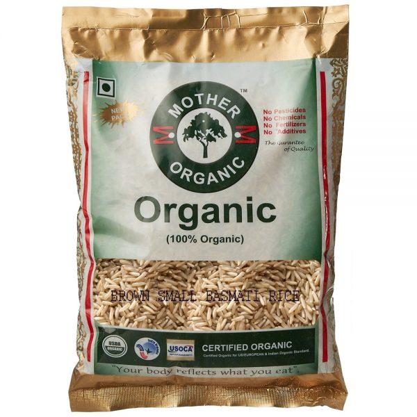 Mother Organic Basmati Brown Rice (1 Kg)-0