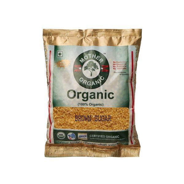 Mother Organic Brown Sugar (500 gm)-0