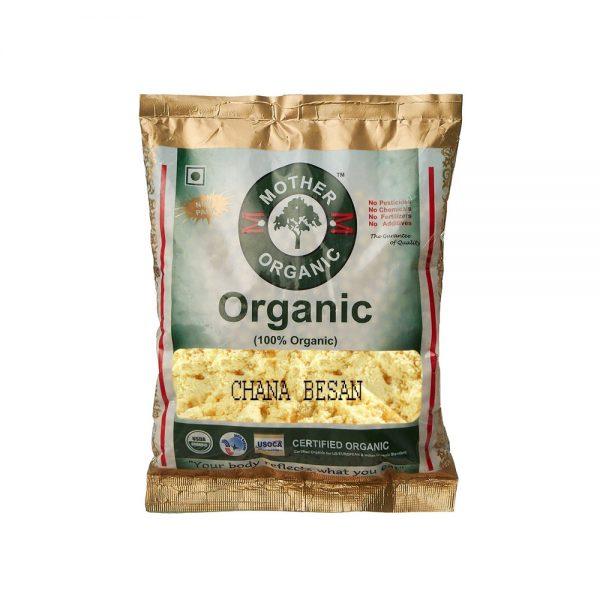 Mother Organic Chana Besan (500 gm)-0