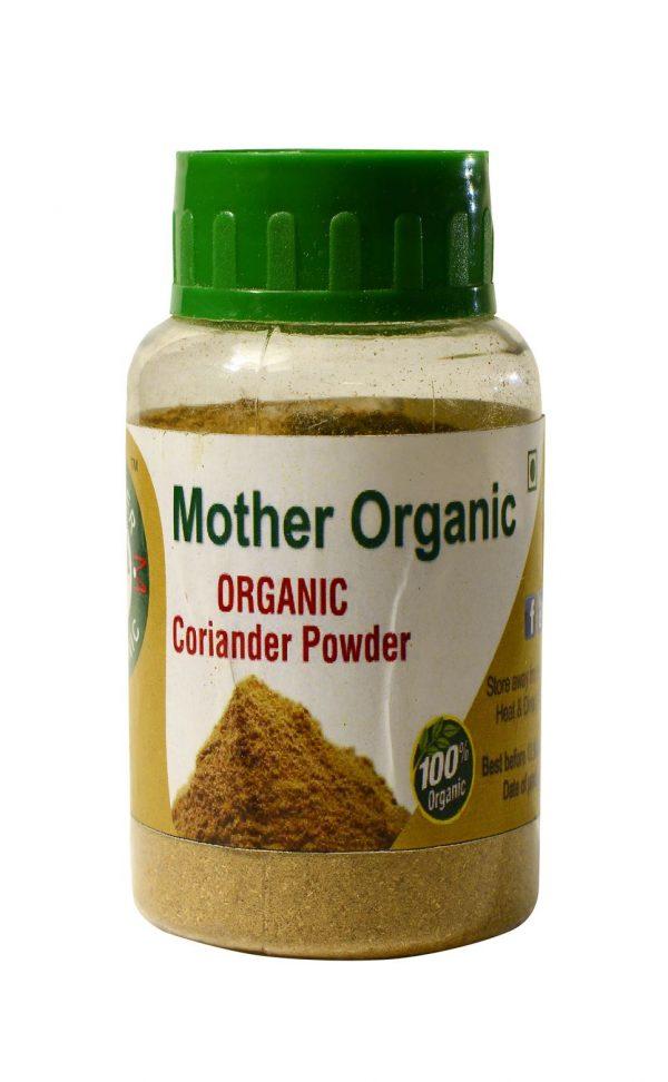 Mother Organic Coriander Powder Bottle (100 gm)-0