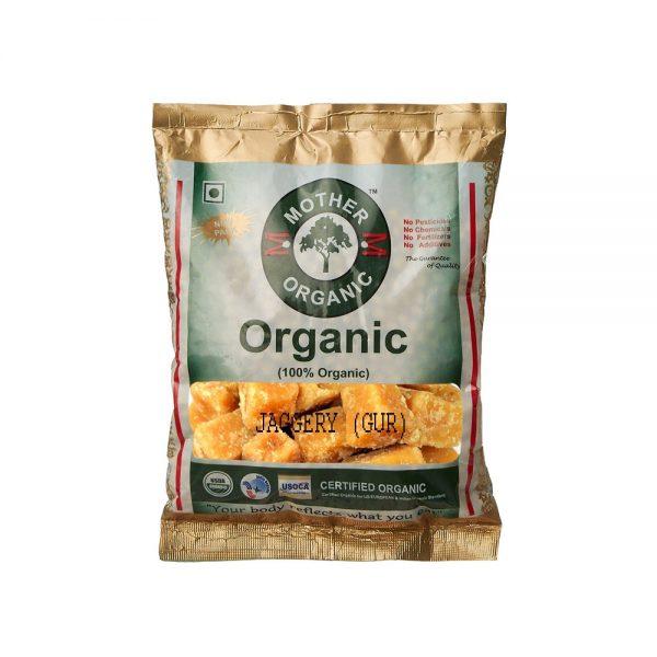 Mother Organic Jaggery (Gur) (500 gm)-0
