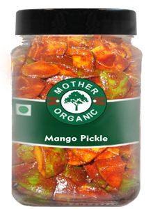 Mother Organic Mango Pickle (350 gm)-0