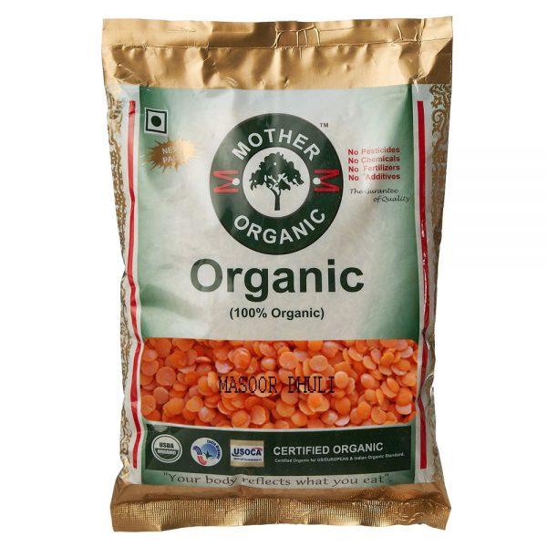 Mother Organic Masoor Dhuli (1 kg)-0