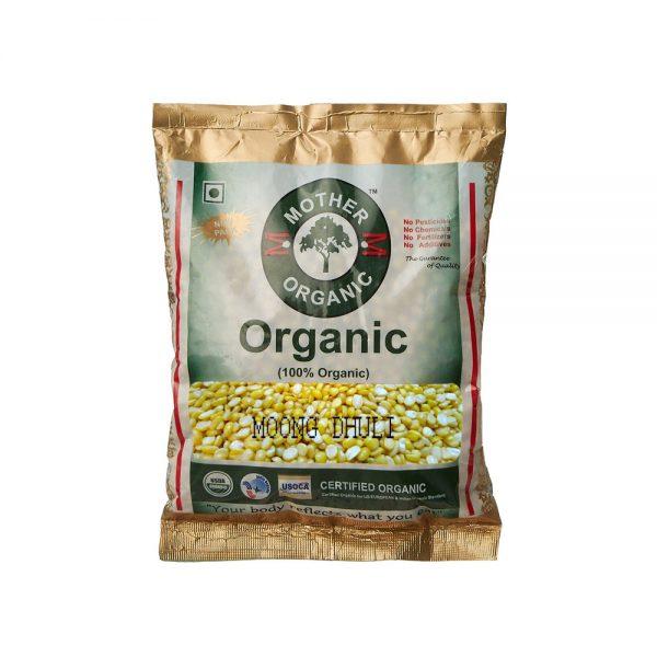 Mother Organic Moong Dhuli (500 gm)-0