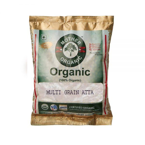 Mother Organic Multi Grain Atta (700 gm)-0