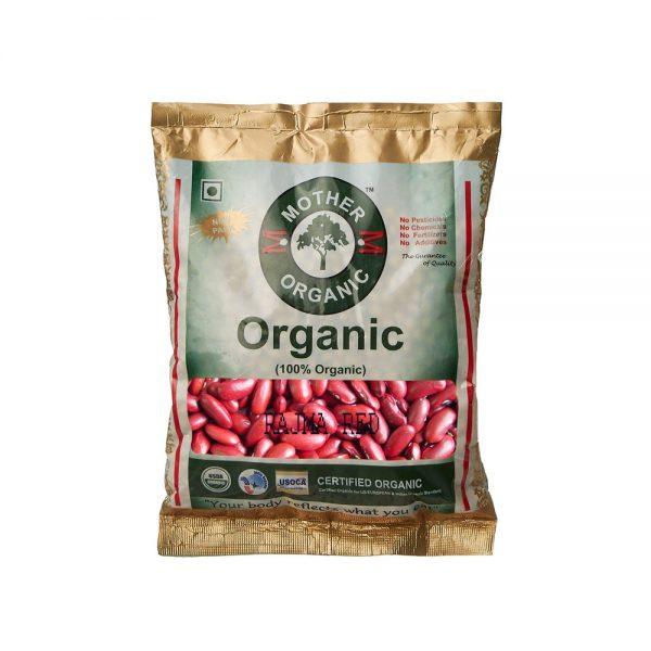 Mother Organic Red Rajma (500 gm)-0