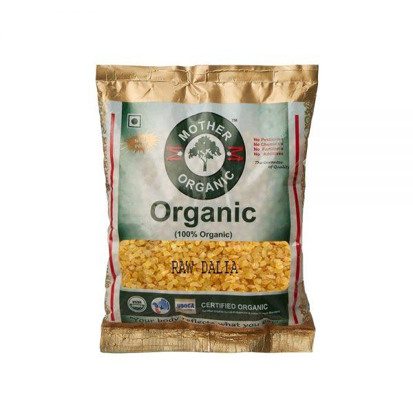 Mother Organic Raw Dalia (500 gm)-0