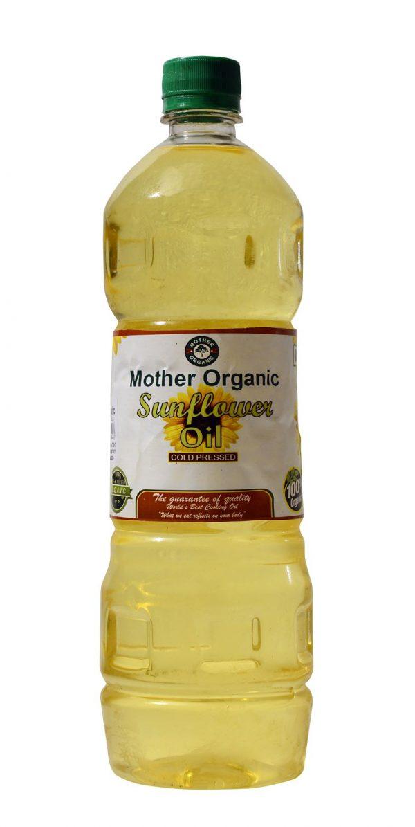 Mother Organic Sunflower Oil (1 litre)-0