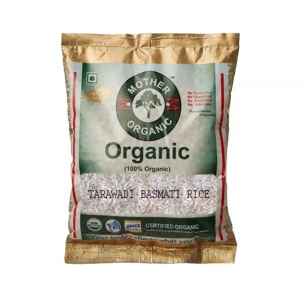 Mother Organic Basmati Tadawadi Rice (1 Kg)-0