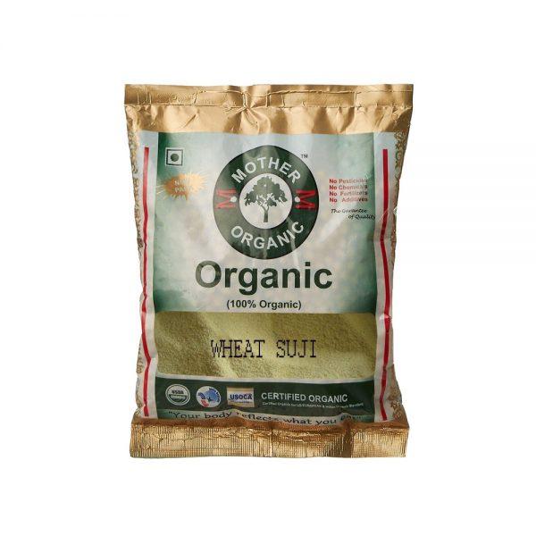 Mother Organic Wheat Suji (500 gm)-0