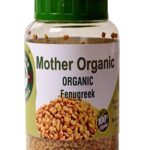 Mother Organic Fenugreek Seeds Bottle (150 gm)-0