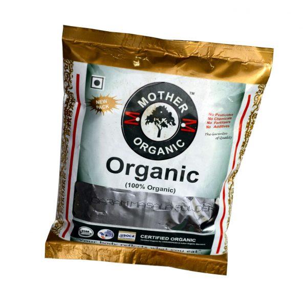Mother Organic Garam Masala Powder Bottle (100 gm)-0