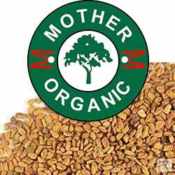 Mother Organic Fenugreek Seeds Bottle (150 gm)-140