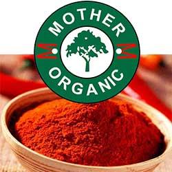 Mother Organic Redchilli Powder Bottle (100 gm)-131