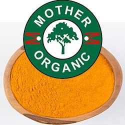 Mother Organic Turmeric Powder Bottle (100 gm)-135