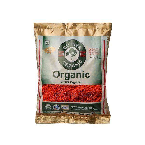 Mother Organic Redchilli Powder Pouch (100 gm)-0