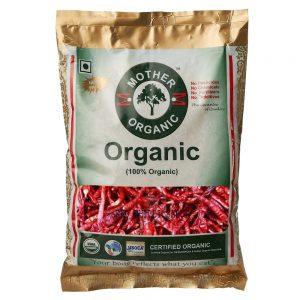 Mother Organic Red Chilli Sabut (30 gm)-0