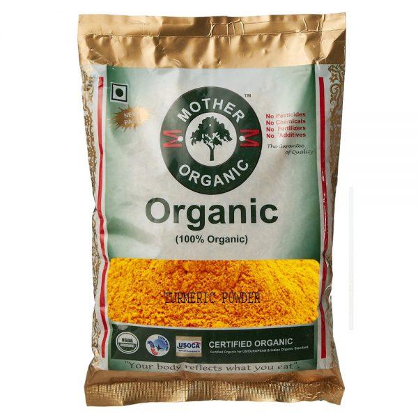 Mother Organic Turmeric Powder (300 gm)-0