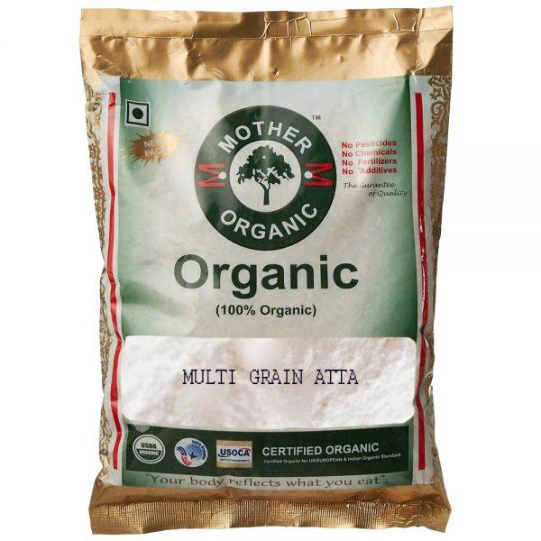 Mother Organic Multi Grain Atta (5 kg)-0