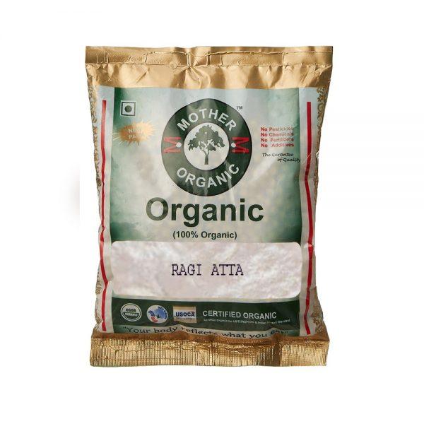 Mother Organic Ragi Atta (500 gm)-0
