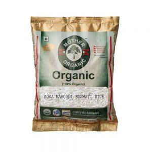 Mother Organic Sona Masoori Rice Basmati (1 kg)-0