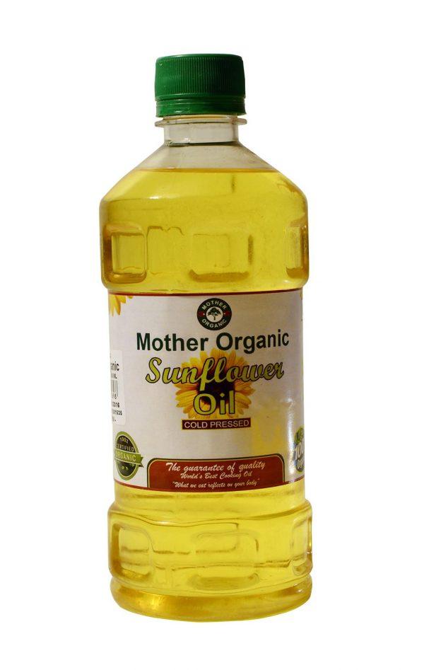 Mother Organic Sunflower Oil (500 ml)-0