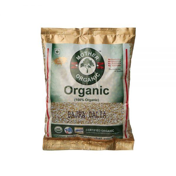 Mother Organic Bajra Dalia (500 gms)-0