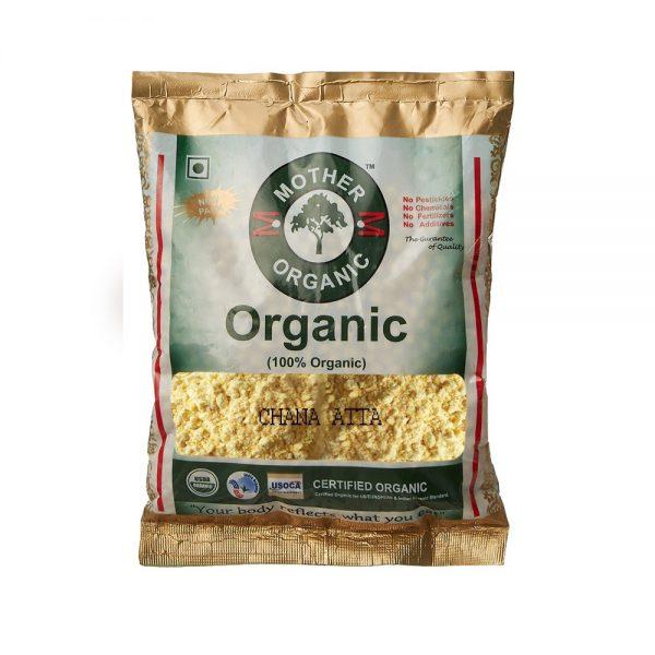 Mother Organic Chana Atta (500 gms)-0
