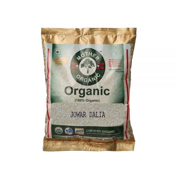 Mother Organic Jowar Dalia (500 gms)-0
