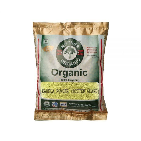 Mother Organic Karela Powder (Bitter Guard) (100 gms)-0