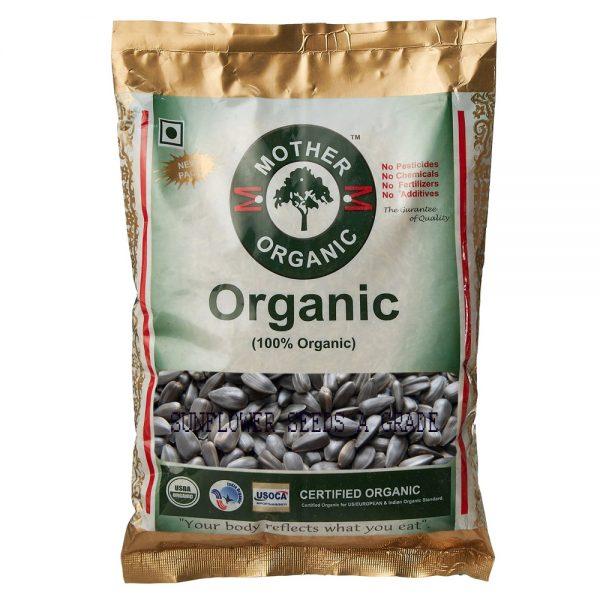 Mother Organic Sunflower Seed A Grade (500 gms)-0