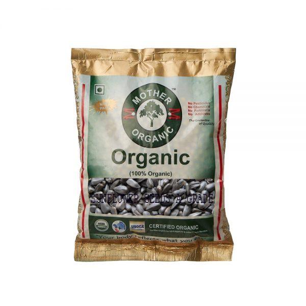 Mother Organic Sunflower Seed A Grade (100 gms)-0