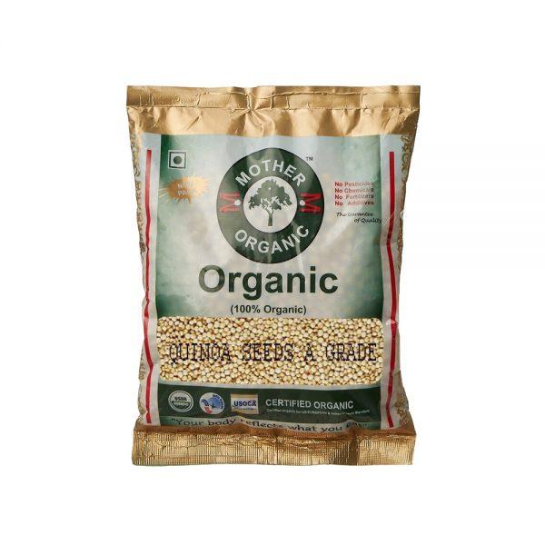 Mother Organic Quinoa seeds A Grade Pouch (250 gms)-0