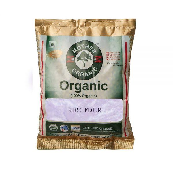 Mother Organic Rice Flour (500 gm)-0