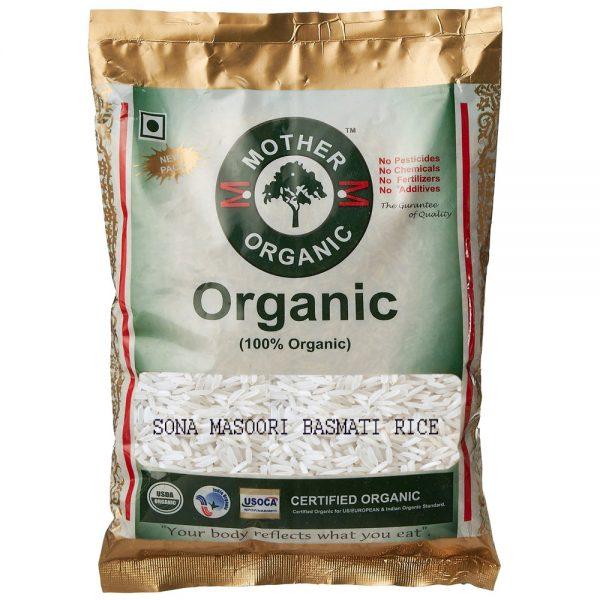 Mother Organic Sona Masoori Rice Basmati (5 kg)-0